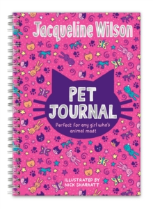 Jacqueline Wilson Pet Journal, Hardback Book