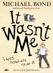 It Wasn't Me!, Hardback Book