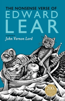 The Nonsense Verse of Edward Lear, Hardback Book