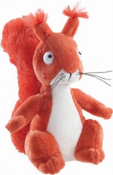 GRUFFALO SQUIRREL 7 INCH SOFT TOY,  Book
