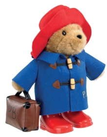 PADDINGTON WITH BOOTS & SUITCASE,  Book