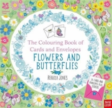 National Trust: The Colouring Book of Cards and Envelopes - Flowers and Butterflies, Paperback Book
