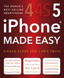 iPhone Made Easy, Paperback Book