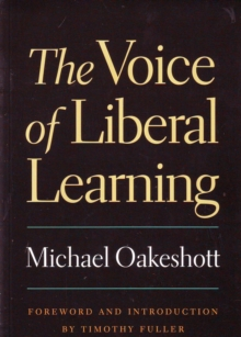 Voice of Liberal Learning, Paperback Book