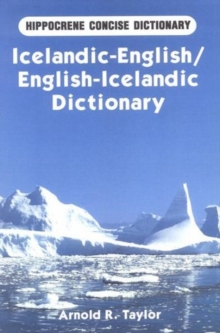 Icelandic-English / English-Icelandic Concise Dictionary, Paperback Book