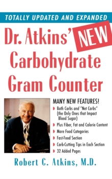 Dr. Atkins' New Carbohydrate Gram Counter, Paperback / softback Book