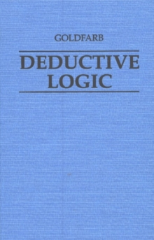 Deductive Logic, Hardback Book