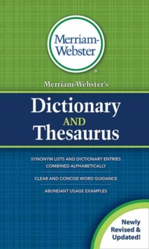 Merriam-Webster's Dictionary and Thesaurus : Revised and Updated