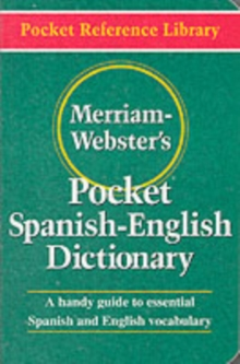 Merriam Webster's Pocket Spanish-English Dictionary, Paperback Book