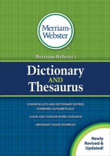Merriam-Webster's Dictionary and Thesaurus : Revised and Updated, Paperback / softback Book