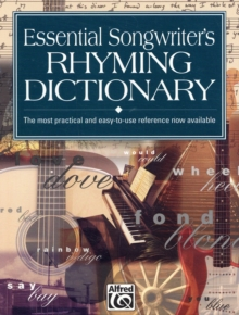 ESSENTIAL SONGWRITERS RHYMING DICTIONARY, Paperback Book