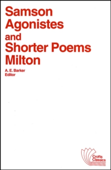 Samson Agonistes and Shorter Poems, Paperback Book