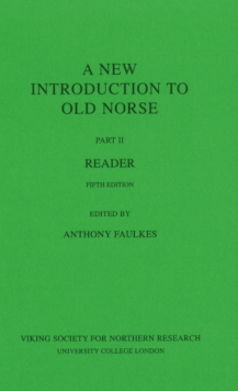 A New Introduction to Old Norse : Reader II, Paperback Book