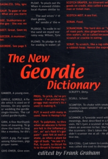 The New Geordie Dictionary, Paperback Book