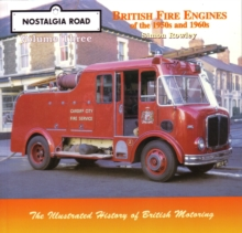 British Fire Engines of the 1950's and 1960's, Paperback Book