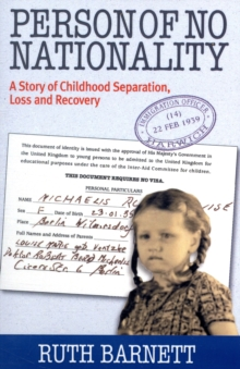 Person of No Nationality : A Story  of Childhood Loss and Recovery, Paperback Book