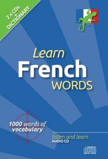 Learn French Words, CD-Audio Book
