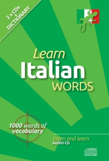 Learn Italian Words, CD-Audio Book