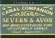 Pearson's Canal Companion - Severn & Avon : Mid-Worcestershire Ring and Cotswold Canals (Saul-Sapperton), Paperback Book