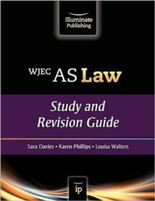 WJEC AS Law : Study and Revision Guide, Paperback Book