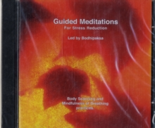 GUIDED MEDITATIONS :FOR STRESS REDUCTION, CD-Audio Book
