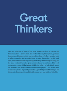 Great Thinkers : Simple Tools from 60 Great Thinkers to Improve Your Life Today, Hardback Book