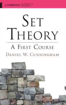 Set Theory : A First Course, Hardback Book