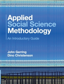 Applied Social Science Methodology : An Introductory Guide, Paperback / softback Book