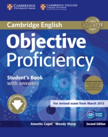 Objective Proficiency Student's Book Pack (student's Book with Answers with Downloadable Software and Class Audio CDs (2)), Mixed media product Book