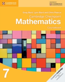 Cambridge Checkpoint Mathematics Coursebook 7, Paperback / softback Book