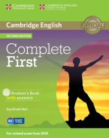 Complete First Student's Book with Answers with CD-ROM, Mixed media product Book