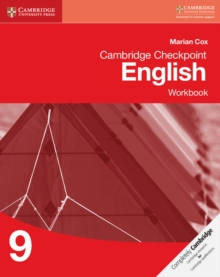 Cambridge Checkpoint English Workbook 9, Paperback / softback Book