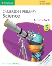 Cambridge Primary Science Stage 5 Activity Book, Paperback Book