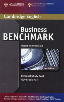 Business Benchmark Upper Intermediate BULATS and Business Vantage Personal Study Book, Paperback Book