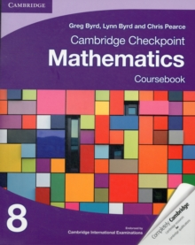 Cambridge Checkpoint Mathematics Coursebook 8, Paperback Book