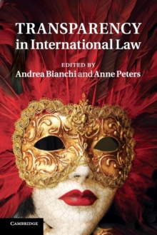 Transparency in International Law, Paperback / softback Book