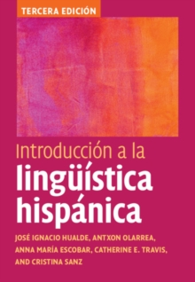 Introduccion a la linguistica hispanica, Hardback Book