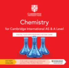 Cambridge International AS & A Level Chemistry Digital Teacher's Resource Access Card, Digital product license key Book