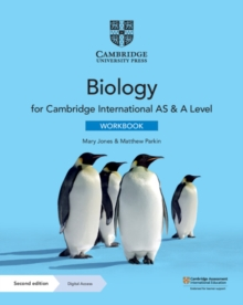Cambridge International AS & A Level Biology Workbook with Digital Access (2 Years), Mixed media product Book