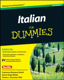 Italian For Dummies, Paperback Book