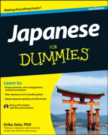 Japanese for Dummies, 2nd Edition with CD, Paperback Book