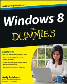 Windows 8 For Dummies, Paperback Book
