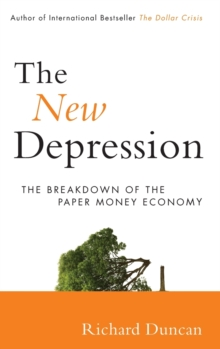 The New Depression : The Breakdown of the Paper Money Economy, Hardback Book