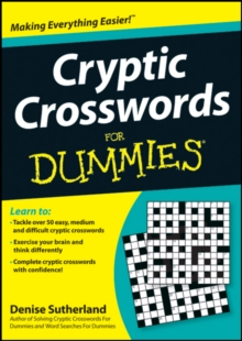 Cryptic Crosswords for Dummies, Paperback Book
