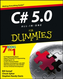 C# 5.0 All-in-One For Dummies, Paperback Book