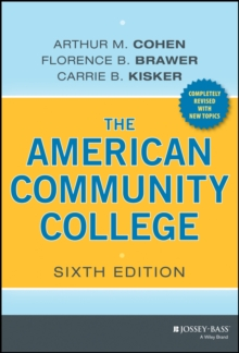 The American Community College, Hardback Book