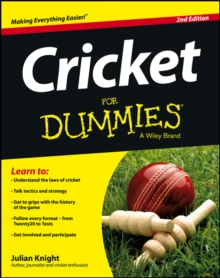 Cricket for Dummies 2E, Paperback Book