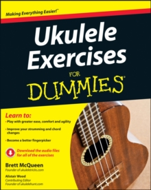 Ukulele Exercises For Dummies, Paperback Book
