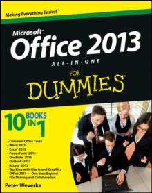 Office 2013 All in One for Dumies, Paperback Book