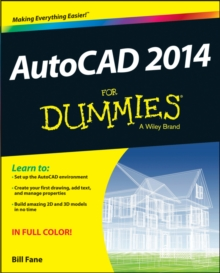 AutoCAD 2014 for Dummies, Paperback Book